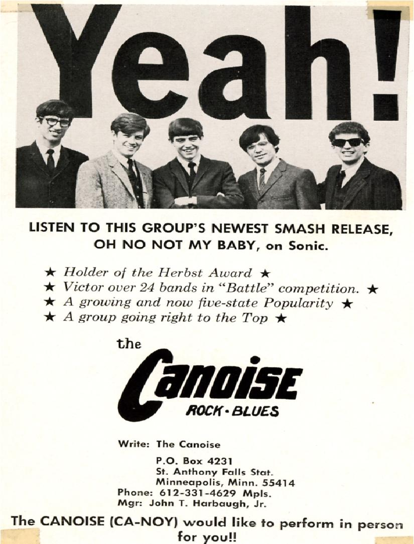 THE Untold Story of St. Cloud Local Band and Minnesota Rock n Roll Hall of Fame Inductees, Canoise!