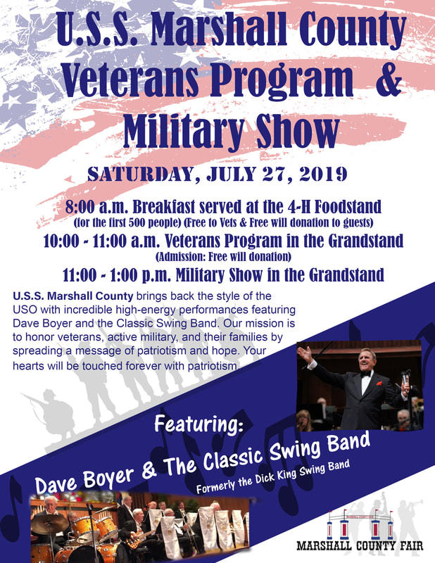 U.S.S. Marshall County Military Show with Dave Boyer & the Classic Swing Band