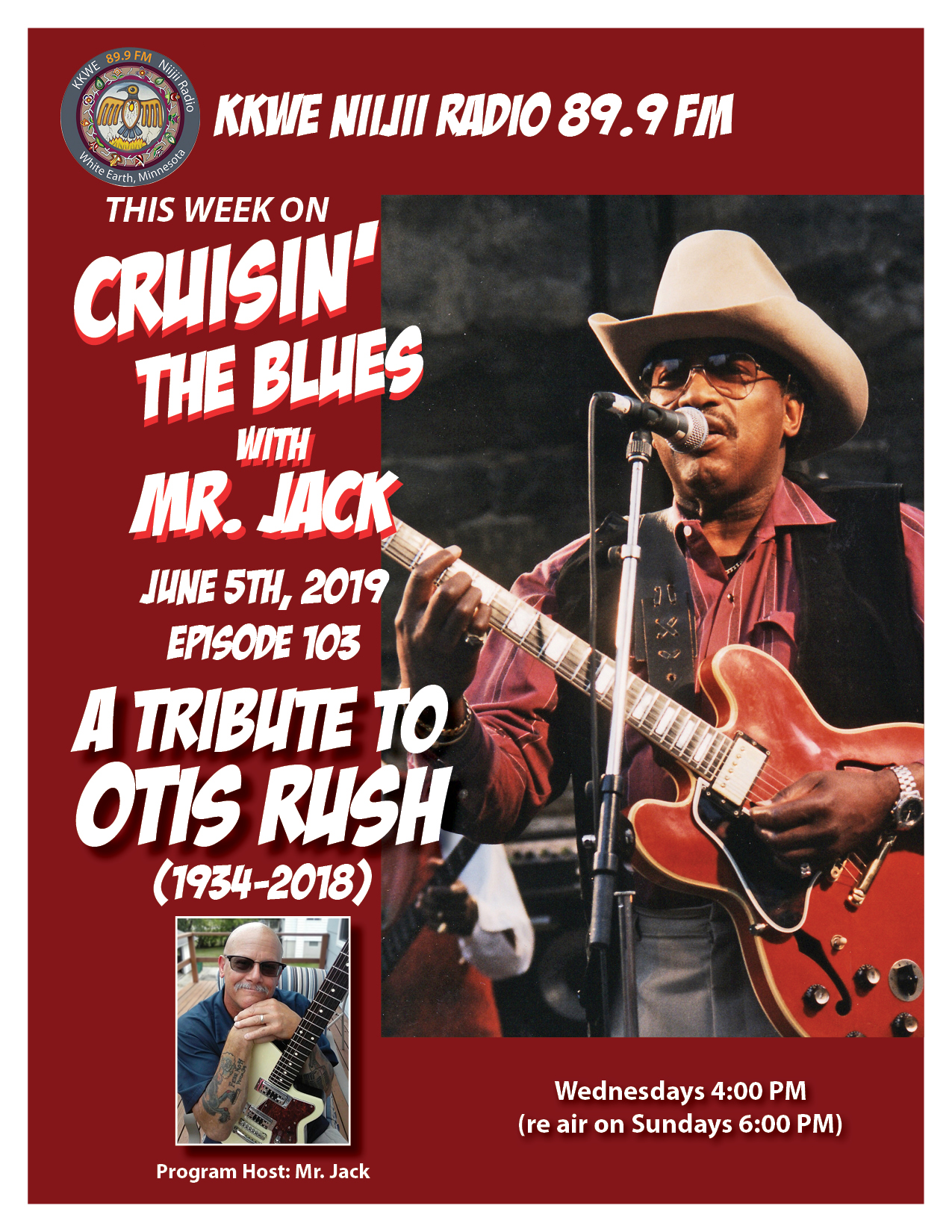 Cruisin the Blues EP 103 Tribute to Otis Rush