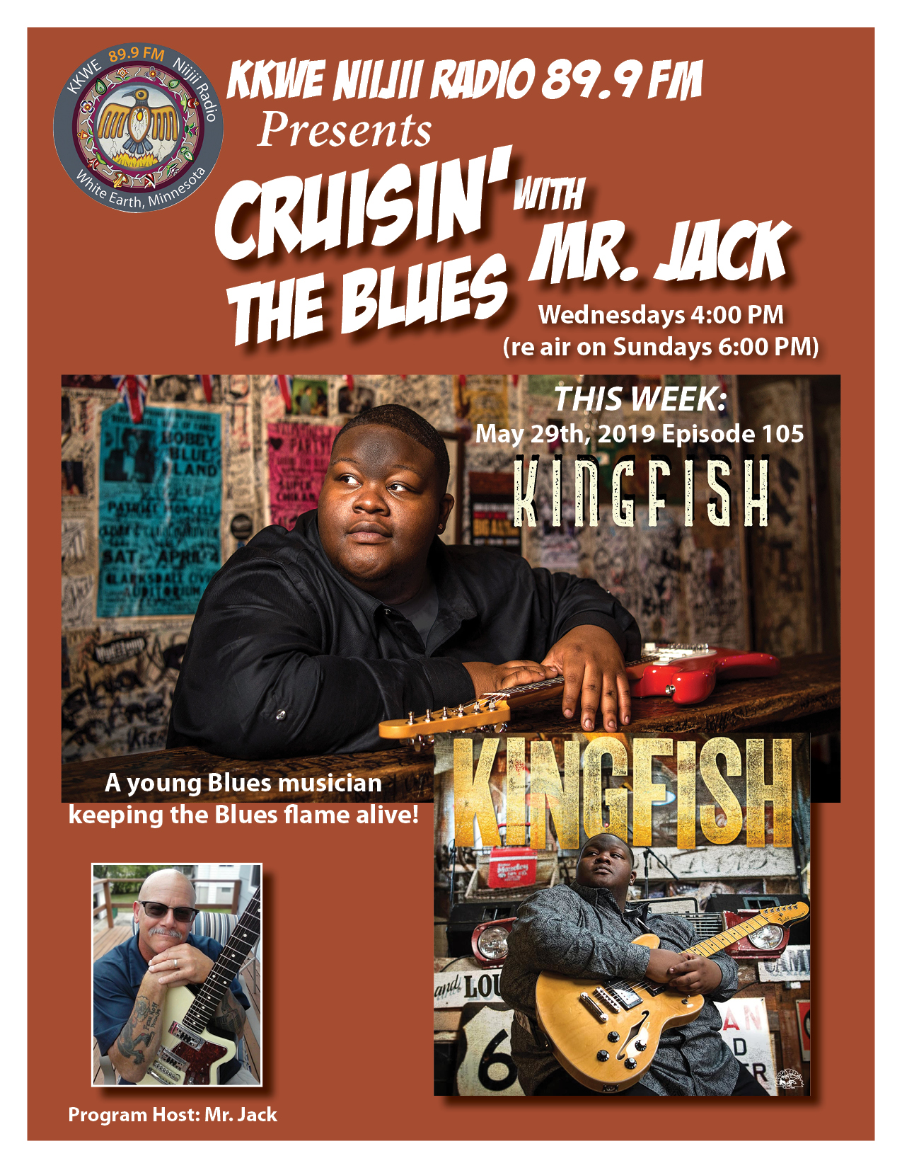 Cruisin the Blues EP 105 Christone Kingfish