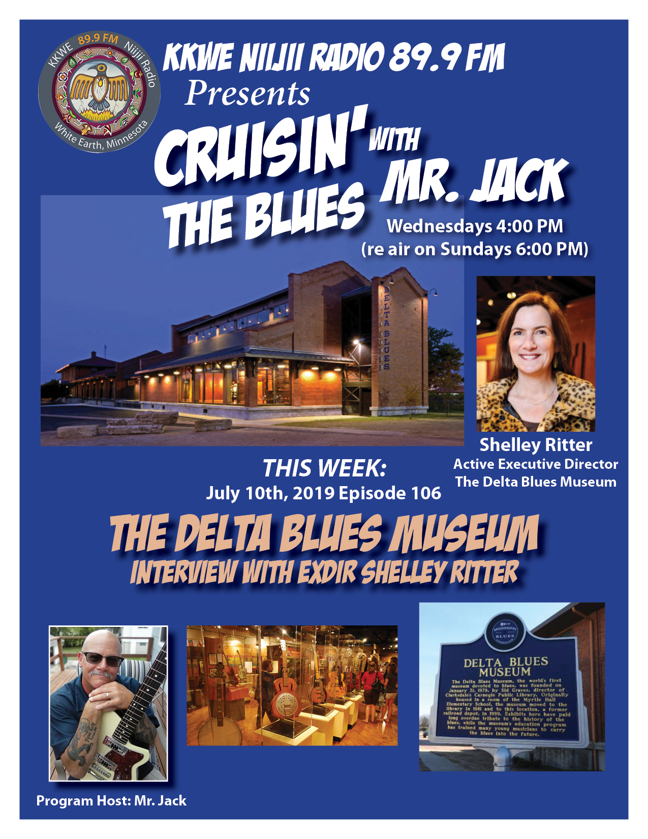 Cruisin the Blues EP 106 The Delta Blues Museum