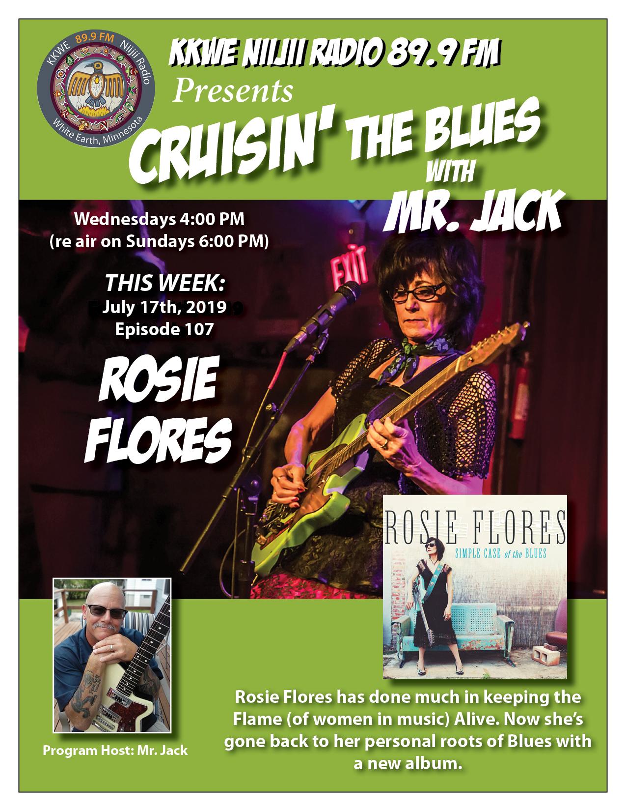 Cruisin the Blues EP 107 Rosie Flores