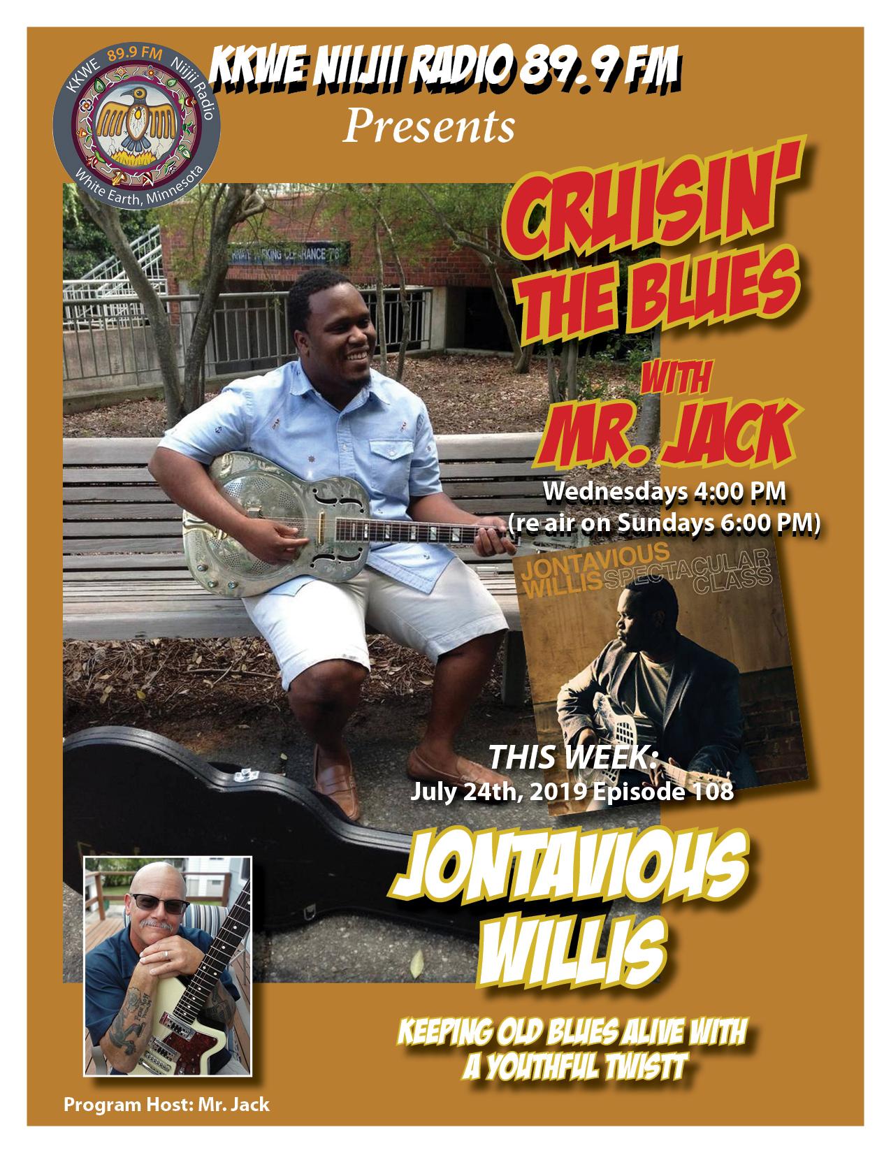 Cruisin the Blues EP 108 Jontavious Willis