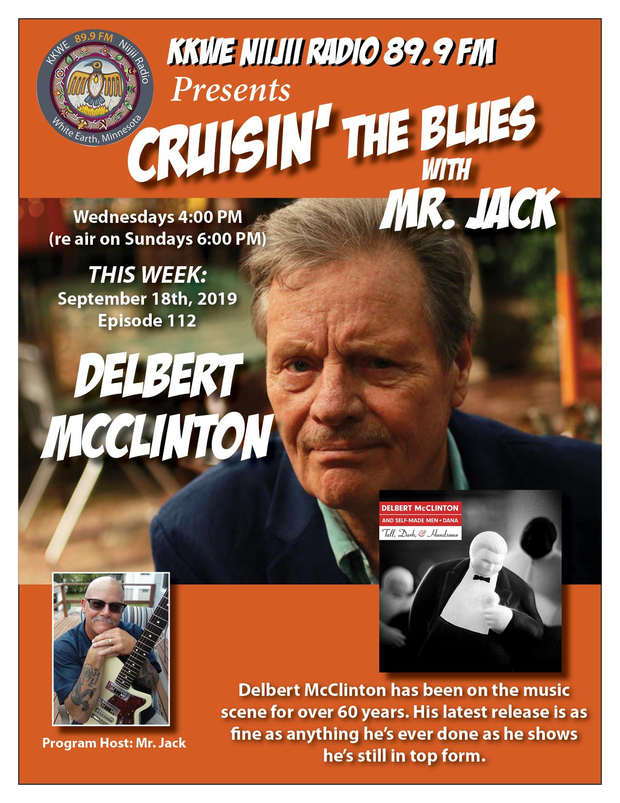 Cruisin the Blues EP112 Delbert McClinton