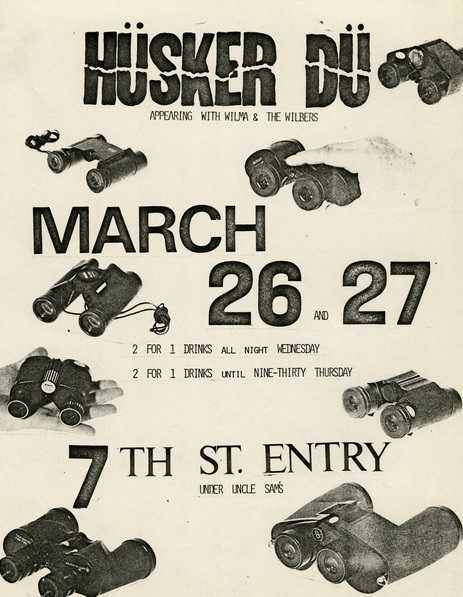 Husker Du's First Show at the 7th Street Entry