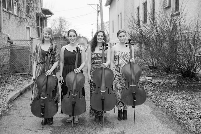 Delphia Cello Quartet Begins a Monthly Residency this Friday Night at the Aster in Minneapolis