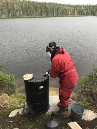 Scientists conduct real-world experiments to study freshwater pollution