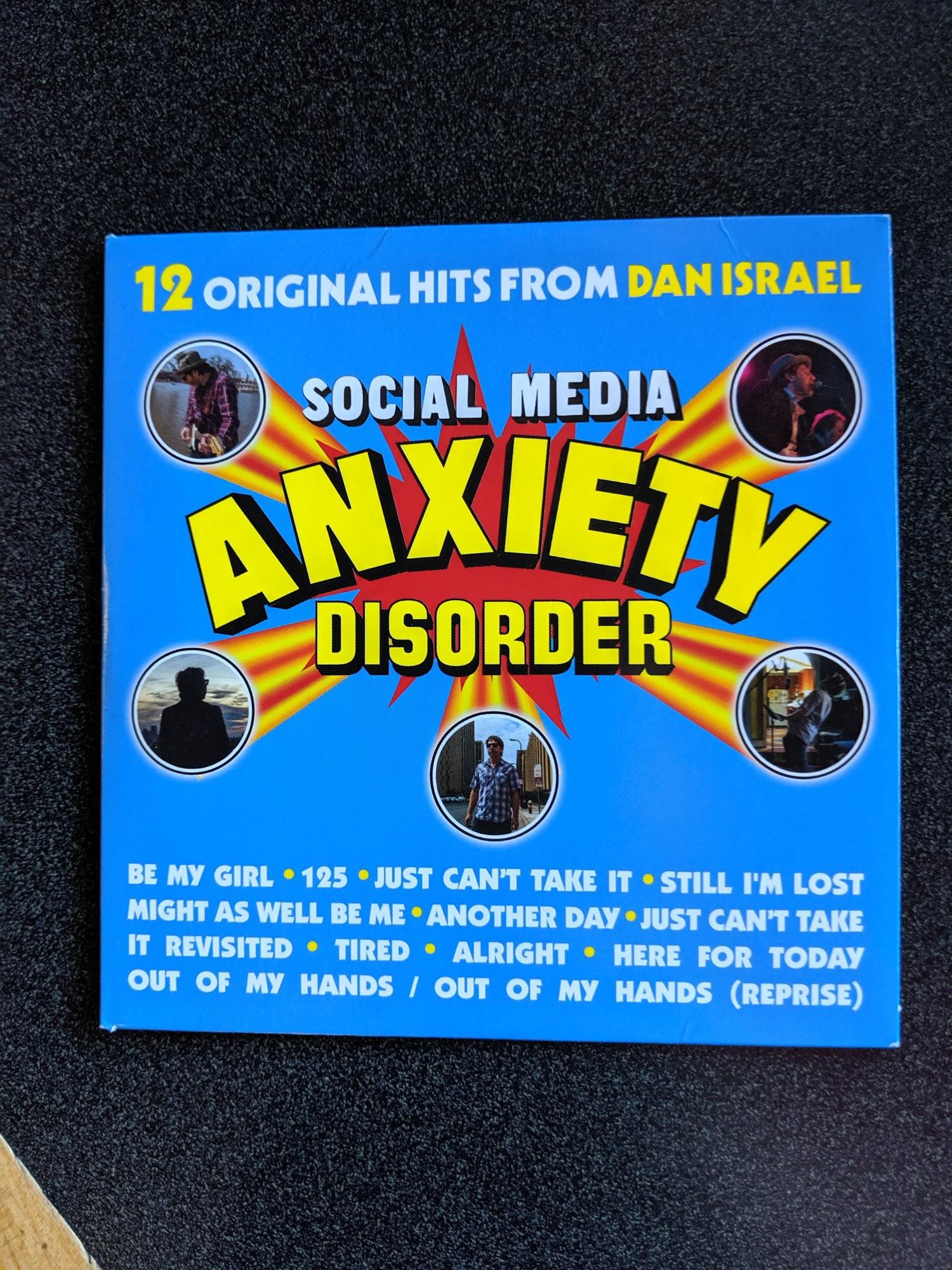 "Dan Israel talks about ""Social Media Anxiety Disorder"""