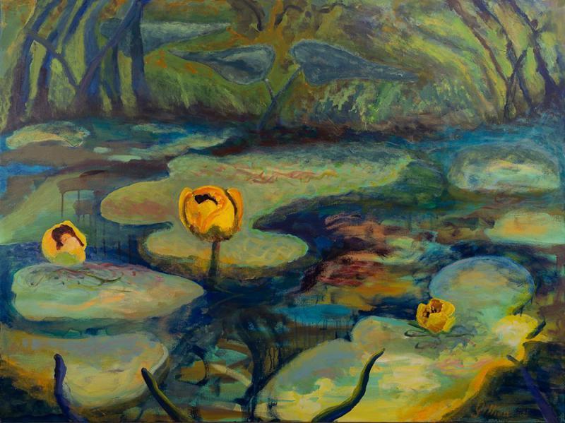 Area Voices: Gillian Bedford, Painter