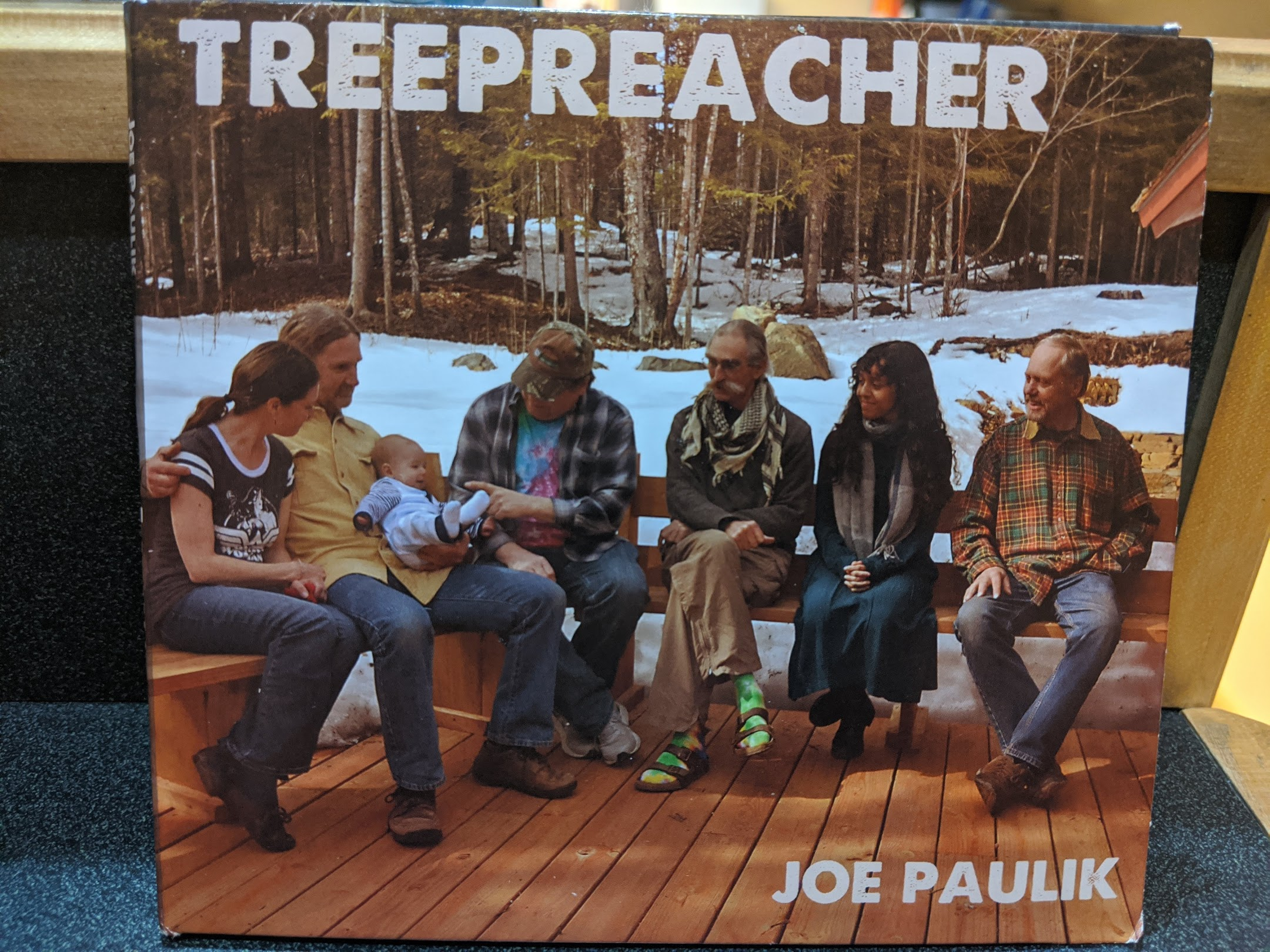 "Joe Paulik and Al Oikari talk about new album ""Treepreacher"" on Scenic Route"