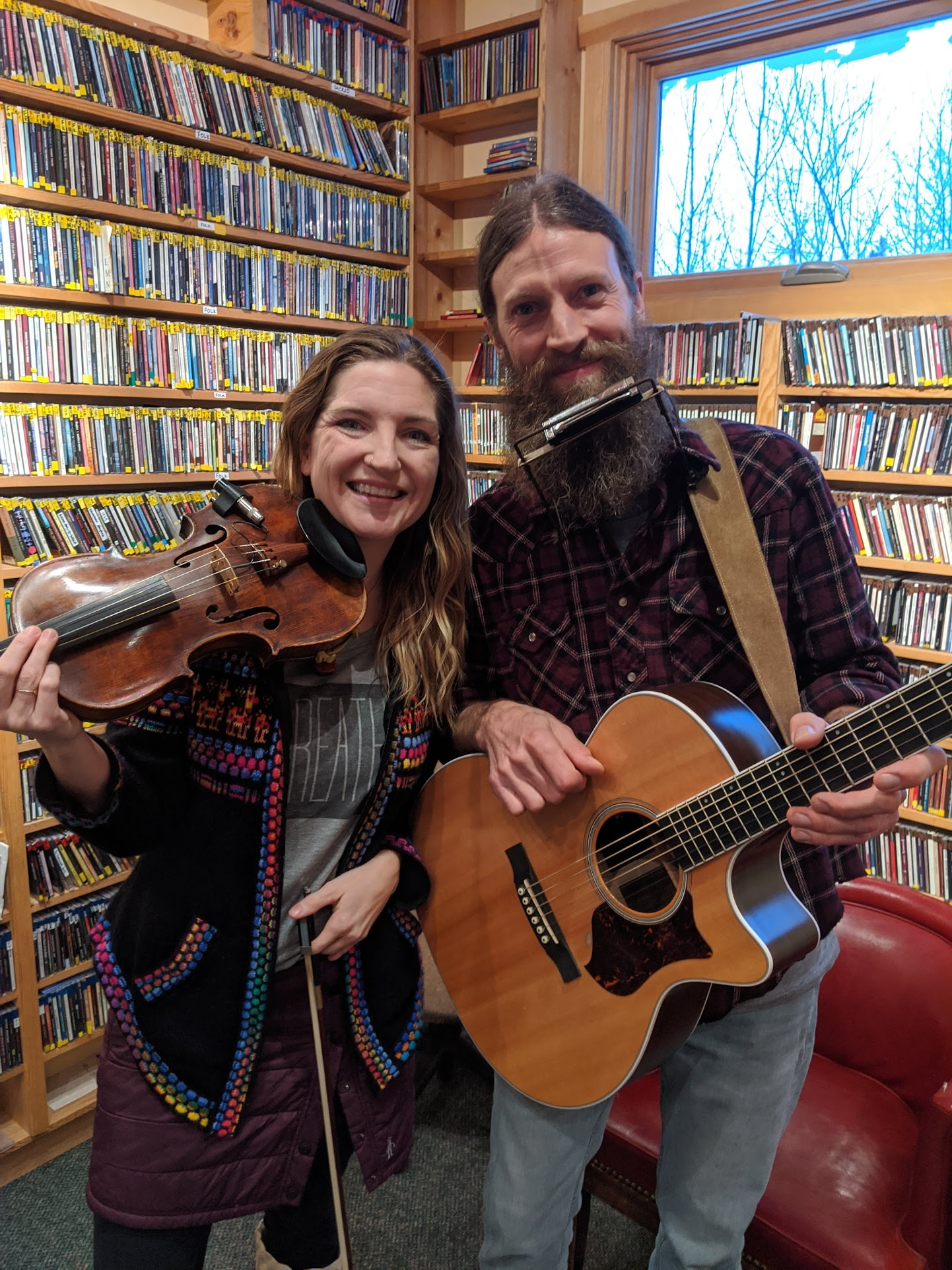 Scenic Route- Rob and Jill debut on WTIP