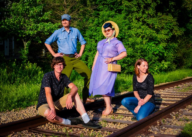 The Fattenin' Frogs Liven Up the Como Park Conservatory this Sunday at 4:30 in Saint Paul