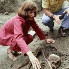 An Archaeologist at Ancient Herculaneum