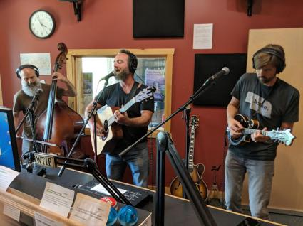 Josh Cleveland and the Cedar Street Band perform on Roadhouse