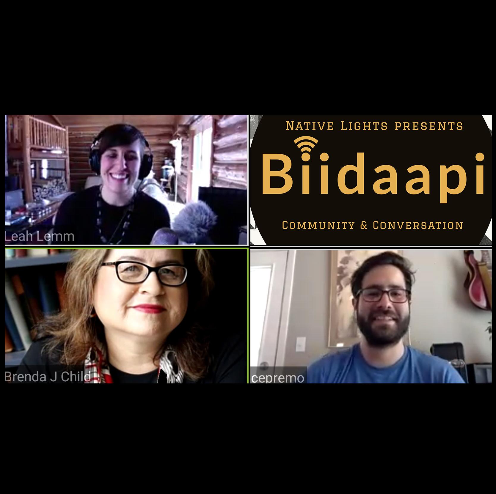NL: Biidaapi -Brenda Child