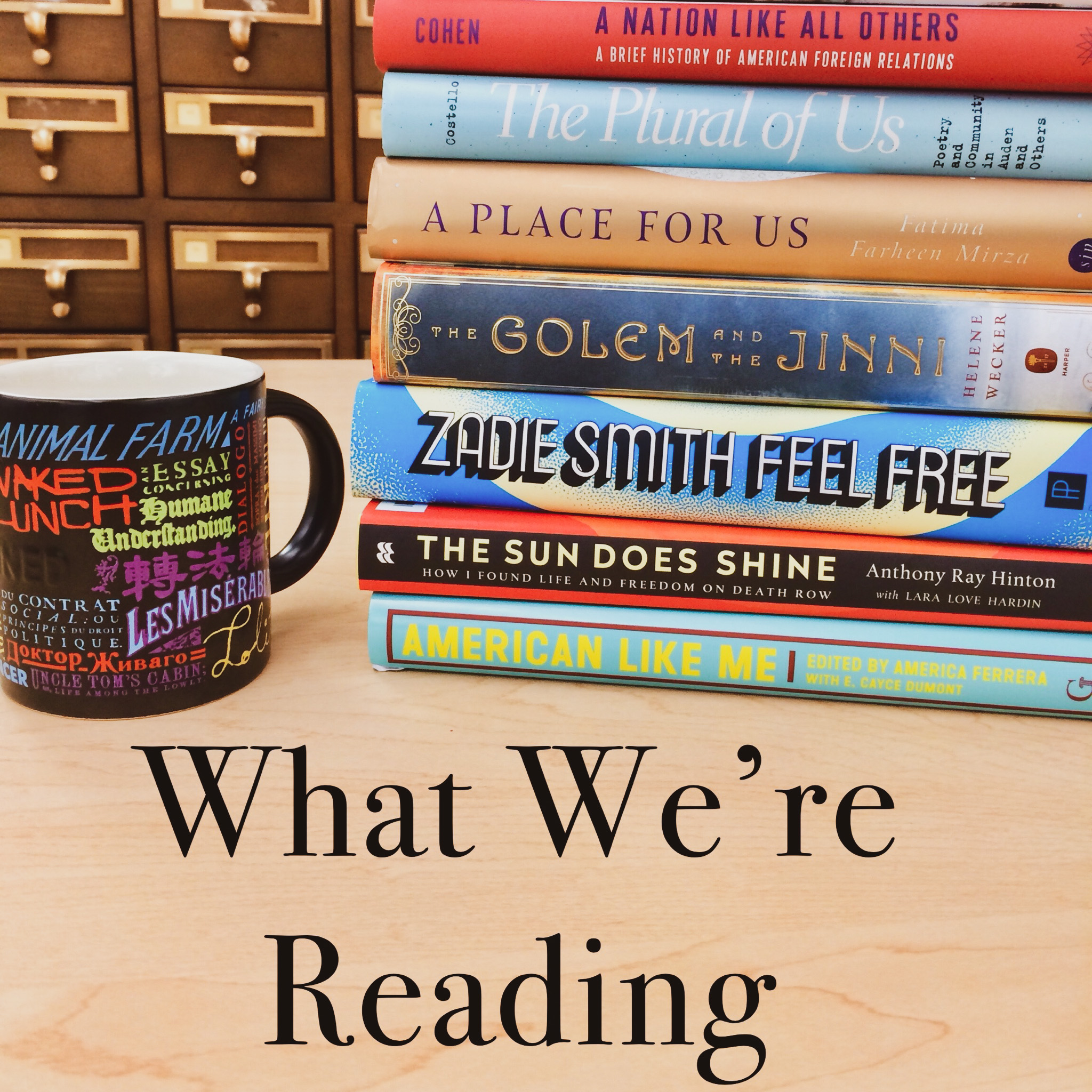 What We're Reading, February 2020