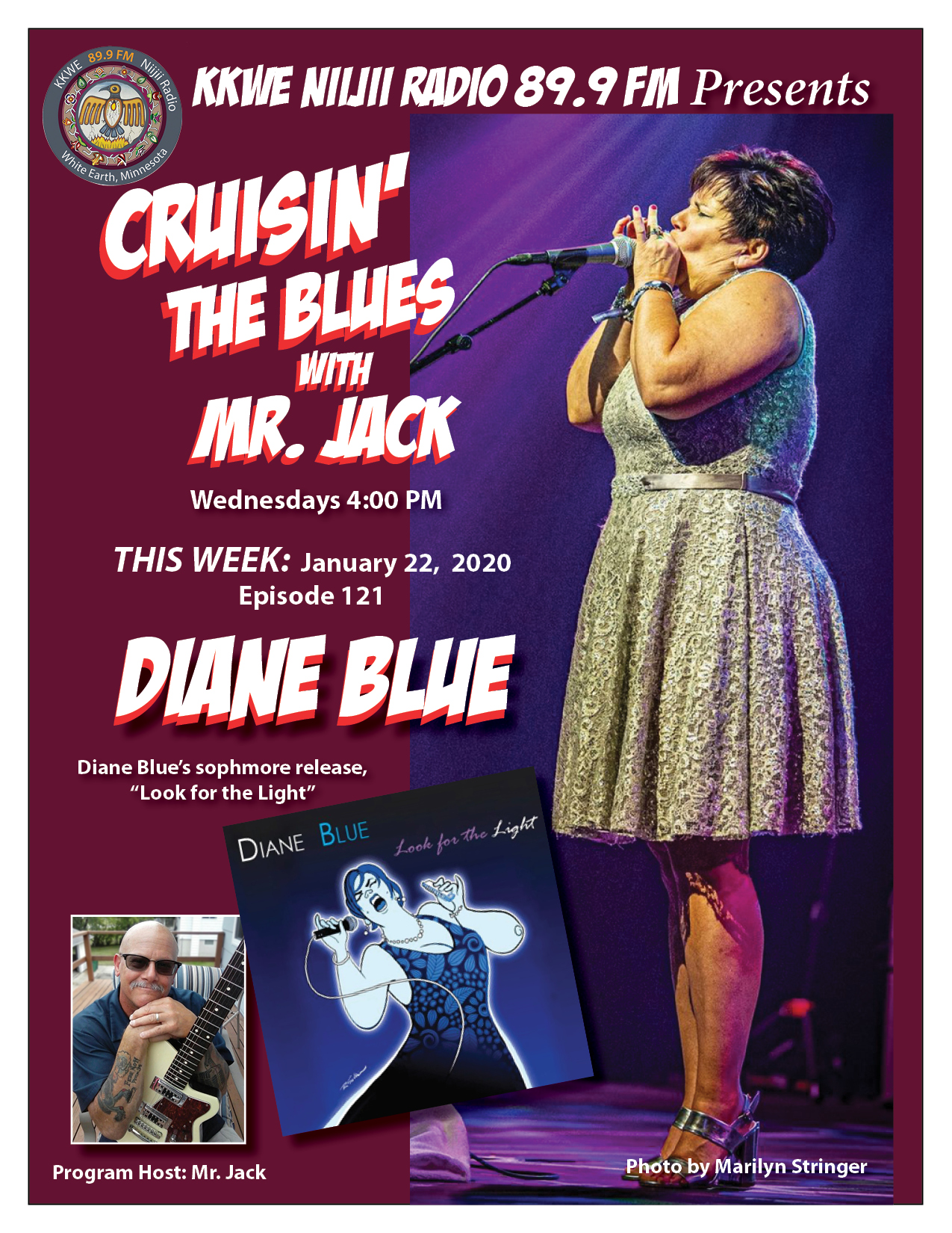 EP121 Diane Blue