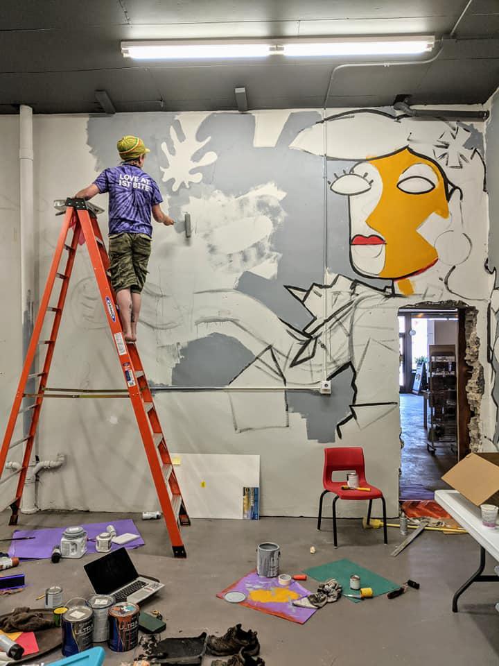 Brainerd Painter and Tattoo Artist Tony Powers!