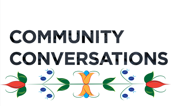 Community Conversations Cover Art