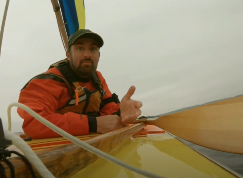 Ely man is first to sail a Sunfish Sailboat to and around Isle Royale