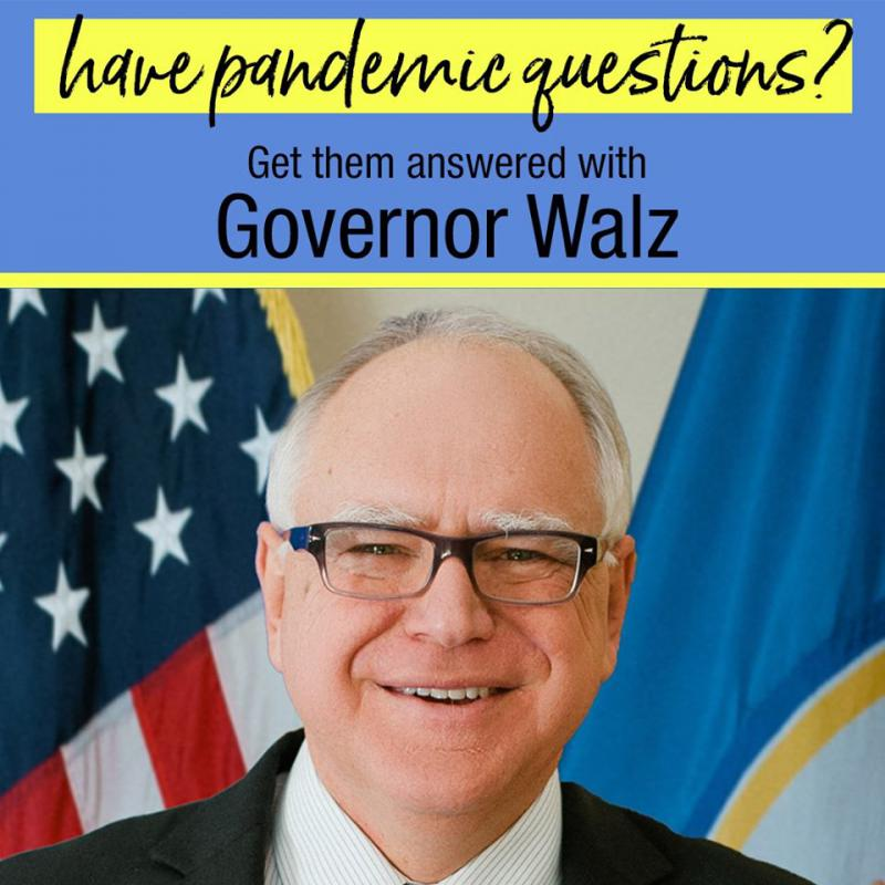 Statewide Conversation on COVID19 – Governor Tim Walz