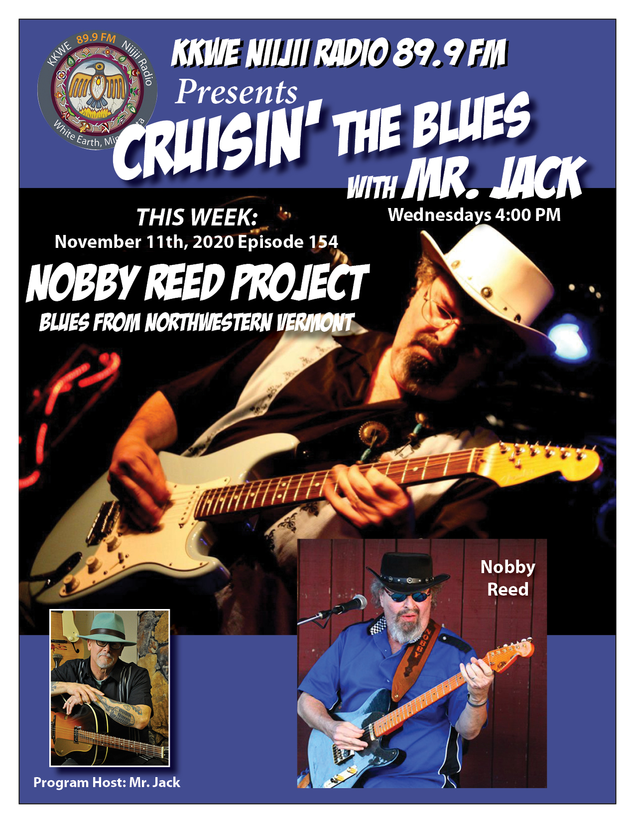 EP154 Nobby Reed Project