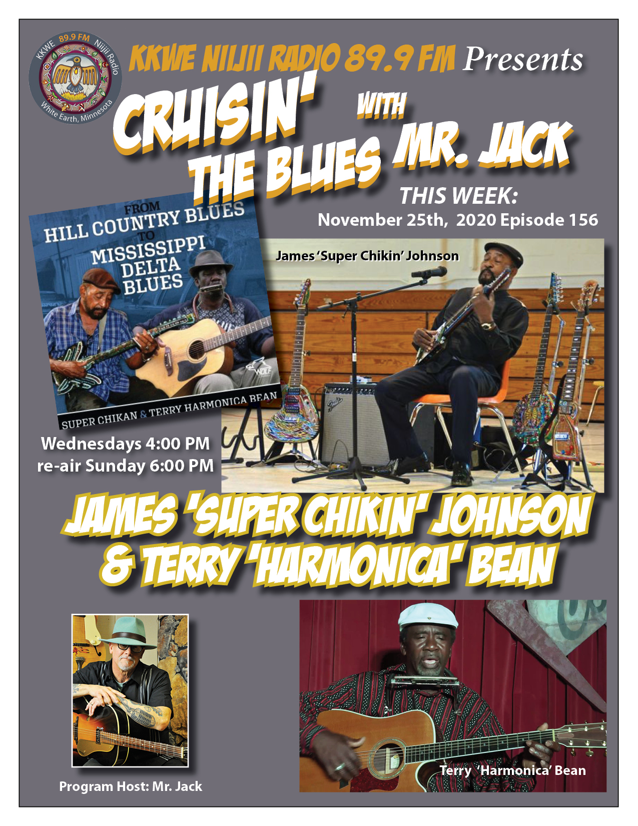 EP156 From Hill Country to Mississippi Delta Blues