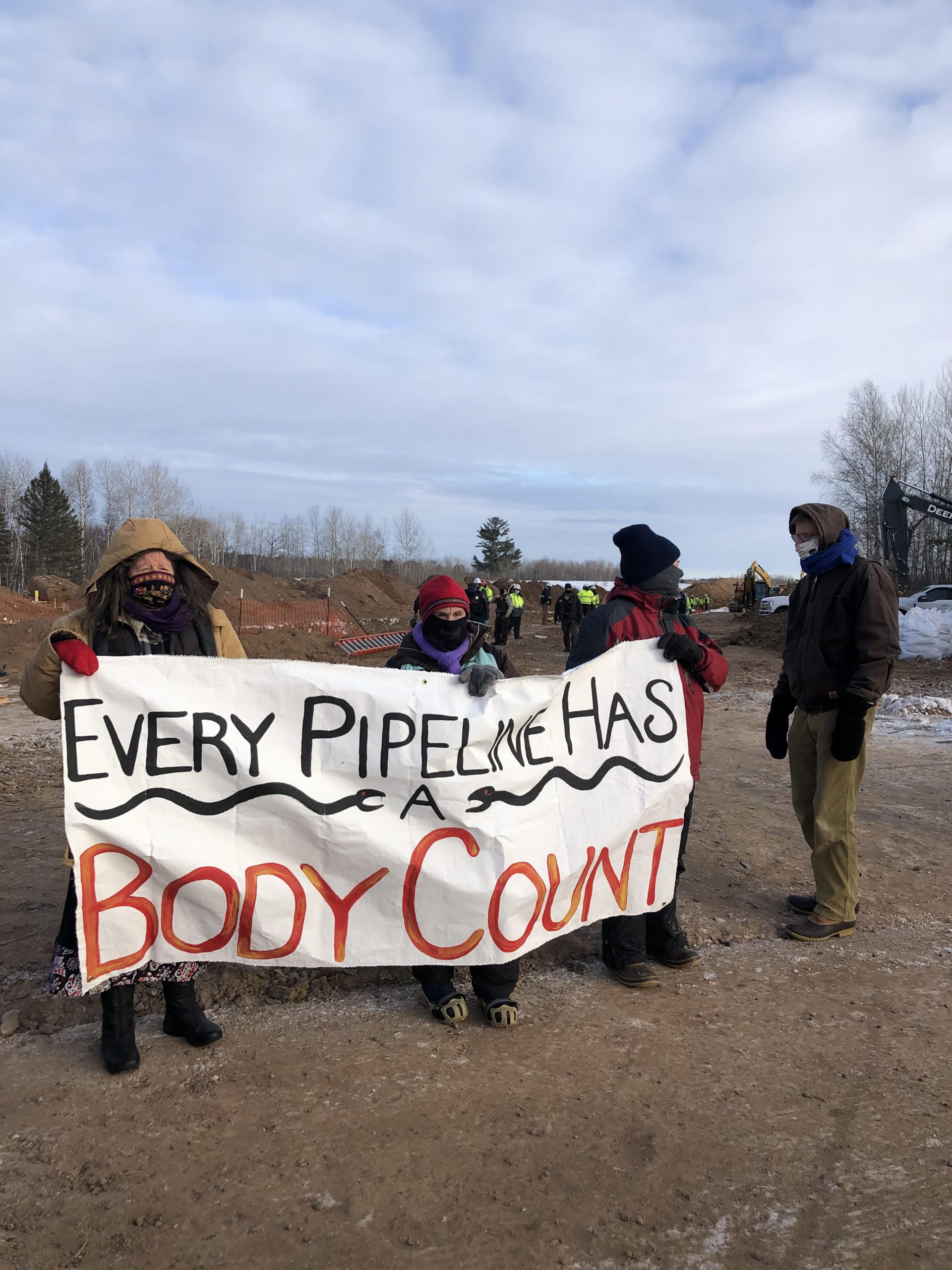 MN Native News: Line Three Protests Continue