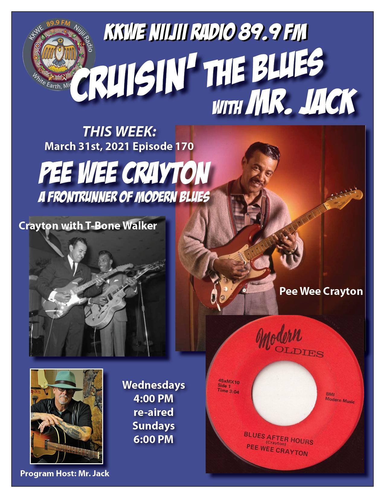 EP170 Pee Wee Crayton