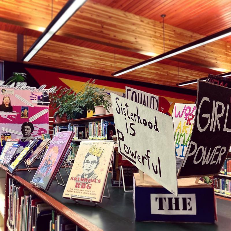 Bemidji Library: Legal Kiosk, Women's History & Micro-stories