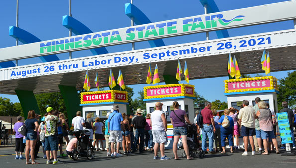The Untold Story of the 2021 MN State Fair in the Time of COVID
