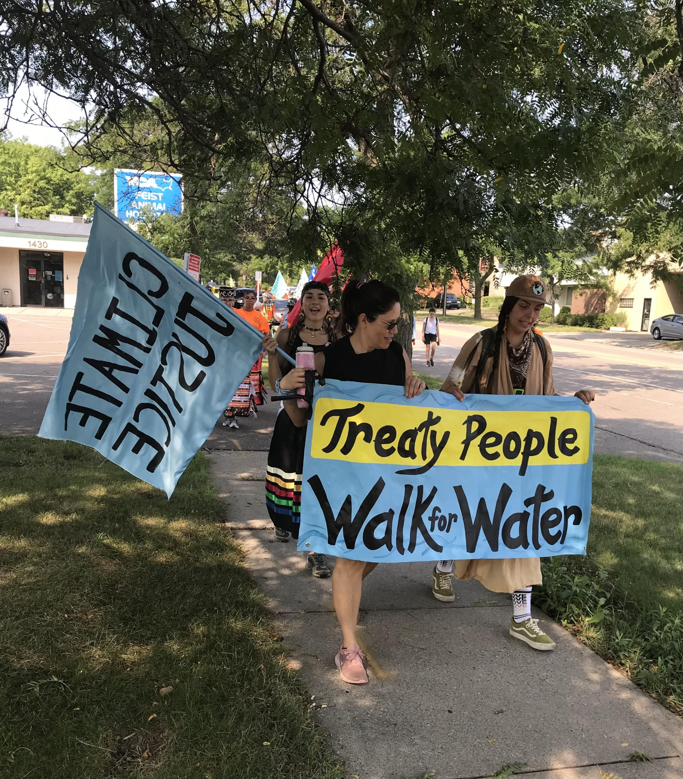MN Native News: A Protest and a Play