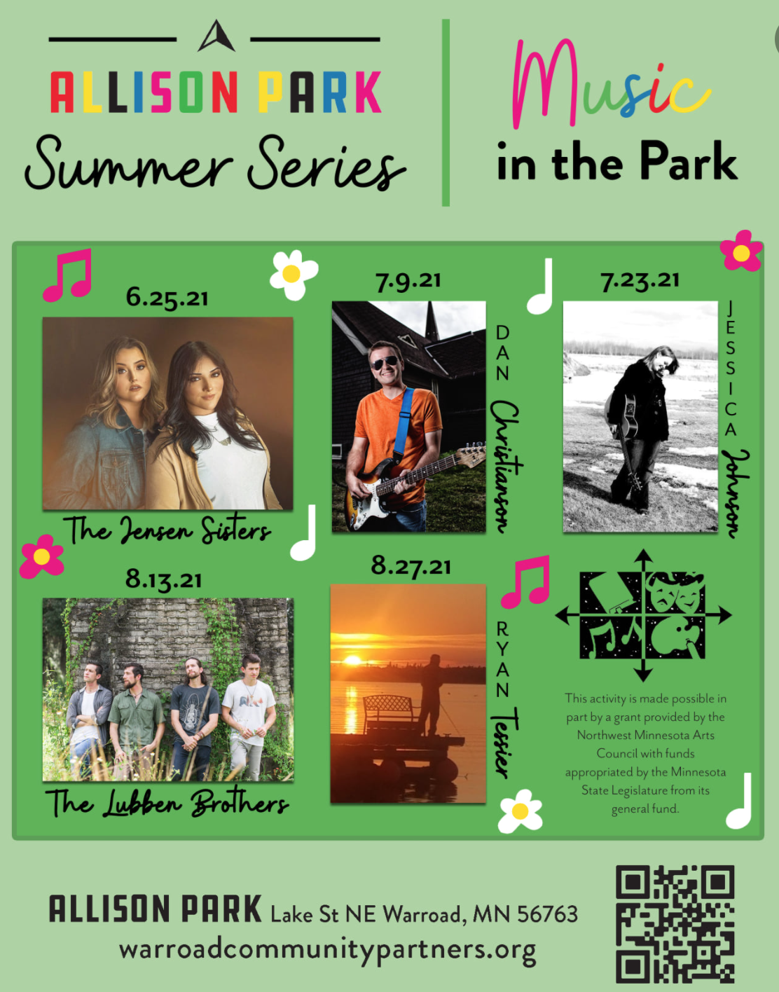Live Music and Art on the Shores of Lake of the Woods!