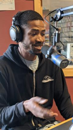 Andre Robinson live in-studio on WTIP